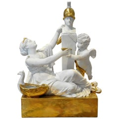 Period Neoclassical Dagoty Encrier or Inkwell, Early 19th Century