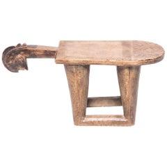 Early 20th Century Ghanaian Lobi Figurative Stool