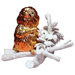 Leontopithecus Rosalia by Mikel Durlam, Ceramic Sculpture