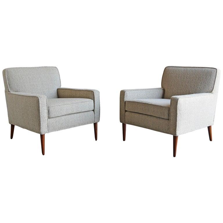 Paul McCobb Pair of Lounge Chairs Model #3022