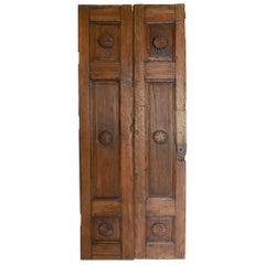 Spanish Colonial Pair of Doors or Screen