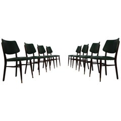 Set of 48 'Cafe de Paris' Bistro Dinning Chairs, France, 1950s