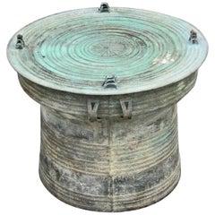 Dorothea Lange's Tibetan Bronze Rain Drum