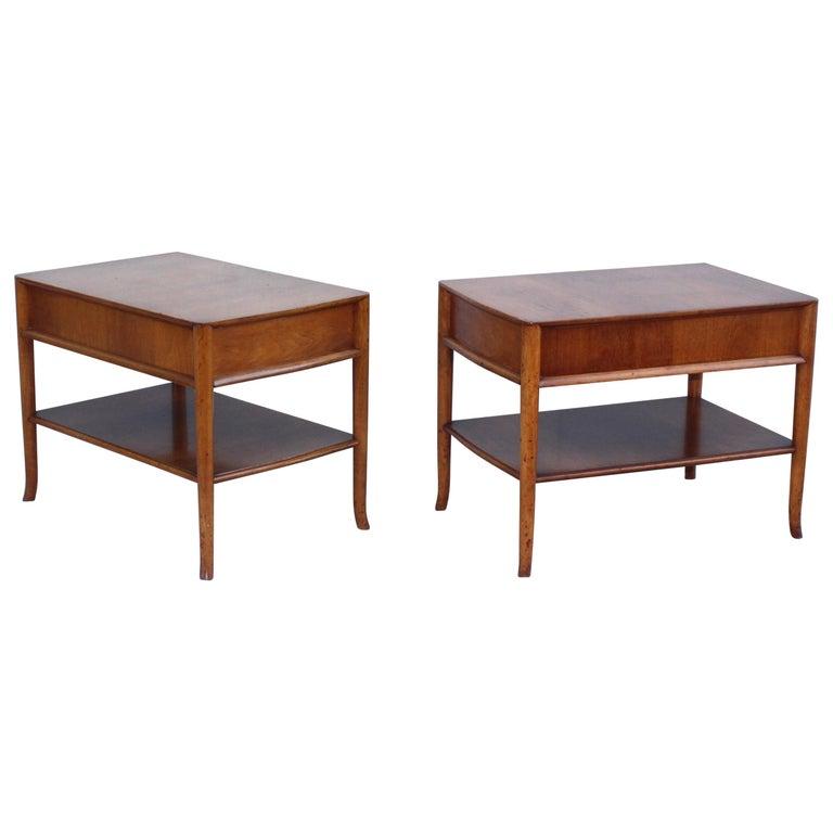 T.H. Robsjohn-Gibbings for Widdicomb Bedside Tables