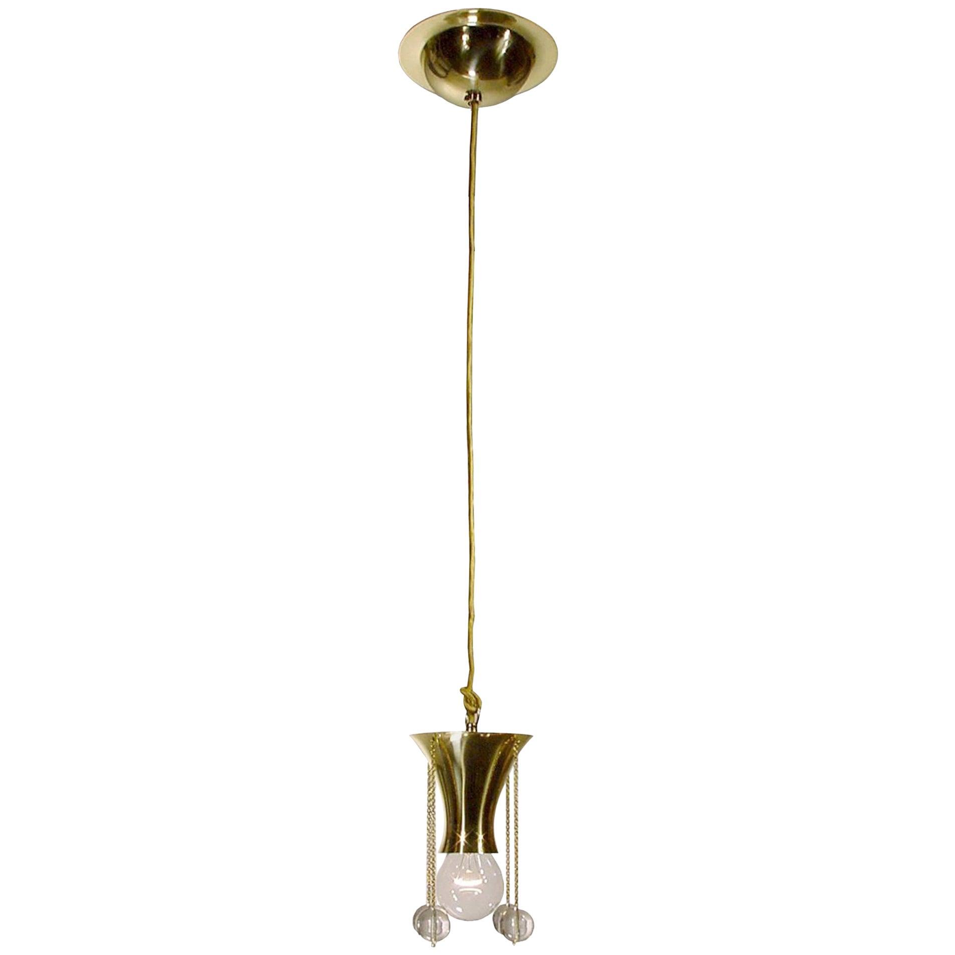 Josef Hoffmann Jugendstil Single Light Pendant for Wiener Werkstätte Re-edition