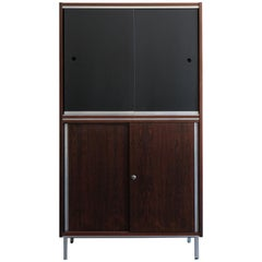 1960s George Nelson Rosewood Midcentury Design Cabinet