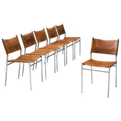 Martin Visser for t' Spectrum Set of Six Dining Chairs