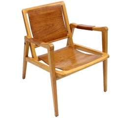 Armchair by Axel Larsson for Bodafors, 1950s