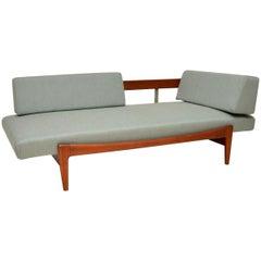1960s Vintage Danish Teak Daybed/Sofa by Ib Kofod Larsen