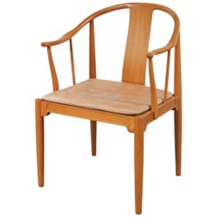 "Hans J. Wegner ""China Chair"" for Fritz Hansen, Denmark, 1980"