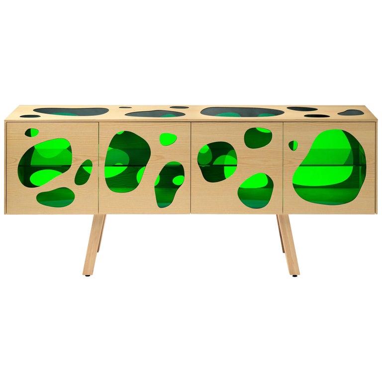 Prototype Aquario Sideboard Campana Brothers, Hand Signed