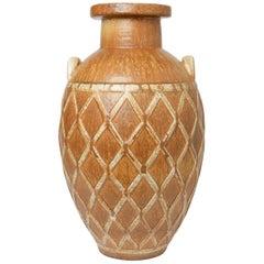 Gunnar Nylund Stoneware Floor Vase for Rörstrand, 1940s