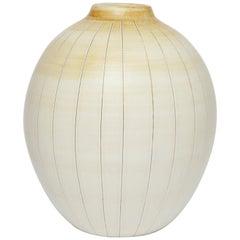 Gertrud Lönegren Stoneware Vase for Rörstrand, 1940s