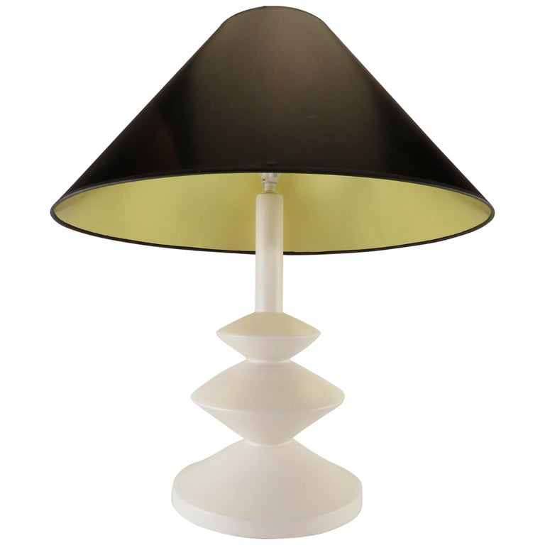 Sculptural Table Lamp by Sirmos after Alberto & Diego Giacometti, circa 1970s
