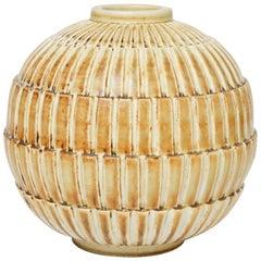 Gertrud Lönegren Stoneware Vase for Rörstrand, 1930s