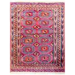 Wonderful Early 20th Century Teke Rug