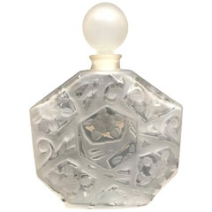 20th Century Large French Perfume Bottle by JC Brosseau