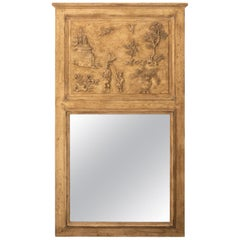 Early 20th Century Chinoiserie Trumeau Mirror