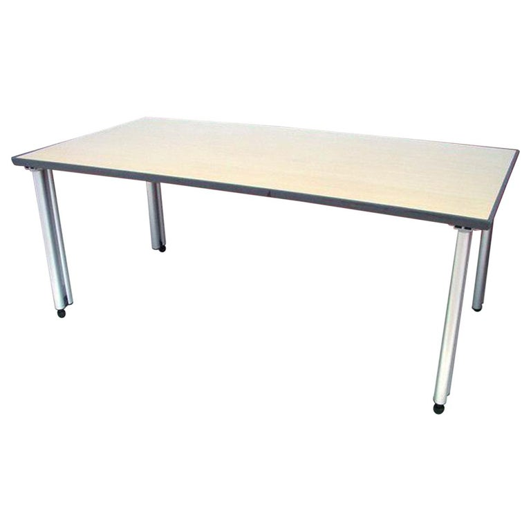 Knoll Propeller Modular Table Wooden Top (MR1341) For Sale