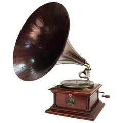 American Victor IV Phonograph in Mahogany