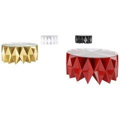 Contemporary Colletto Coffee Table in Aluminium by Altreforme