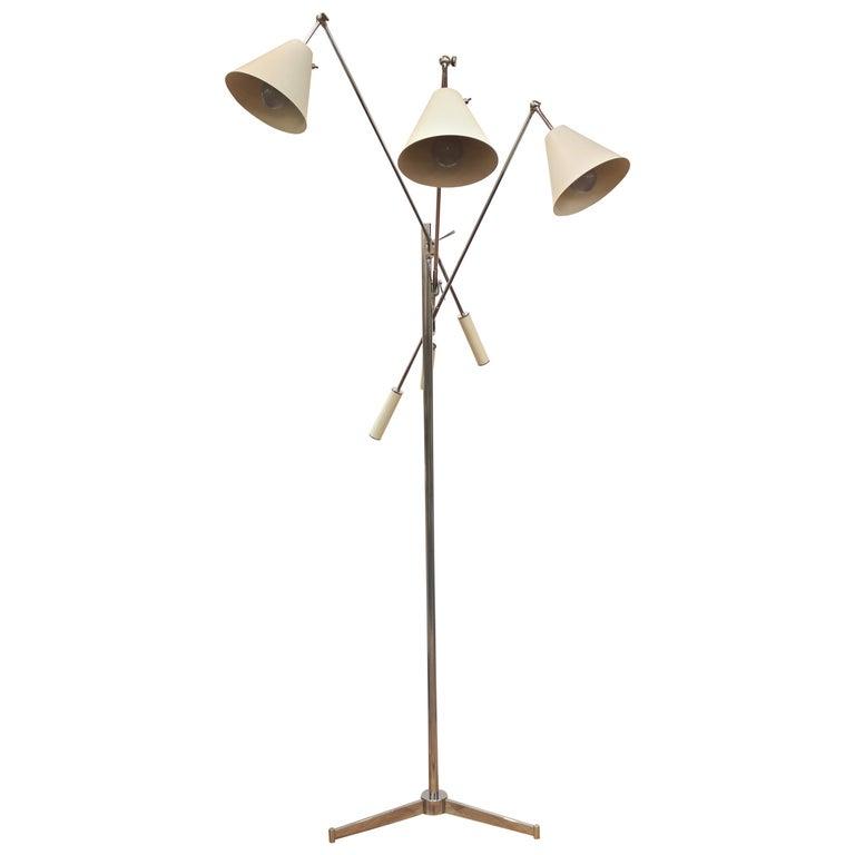 Arredoluce Italian Modern Triennale Floor Lamp