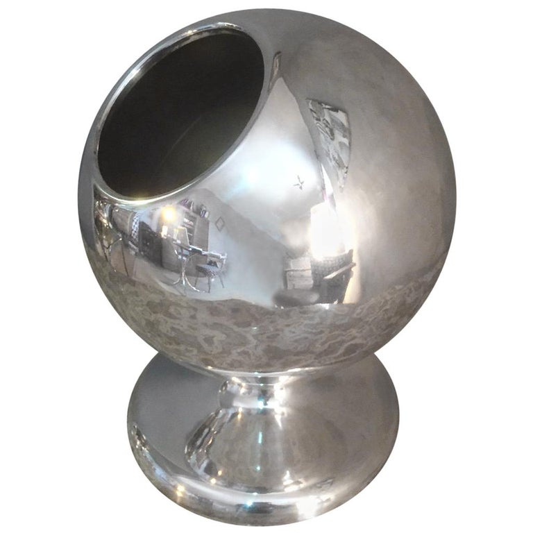 French Silver Plated Ice Bucket, 1970s