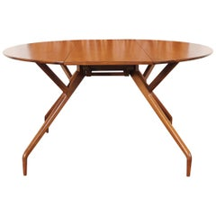"Vintage ""Spider"" Dining Table by Ed Frank for Glenn of California"