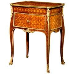 Louis XV-Style Side Table by L'Escalier De Cristal