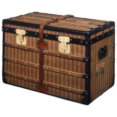 Louis Vuitton Rayée Steamer Trunk