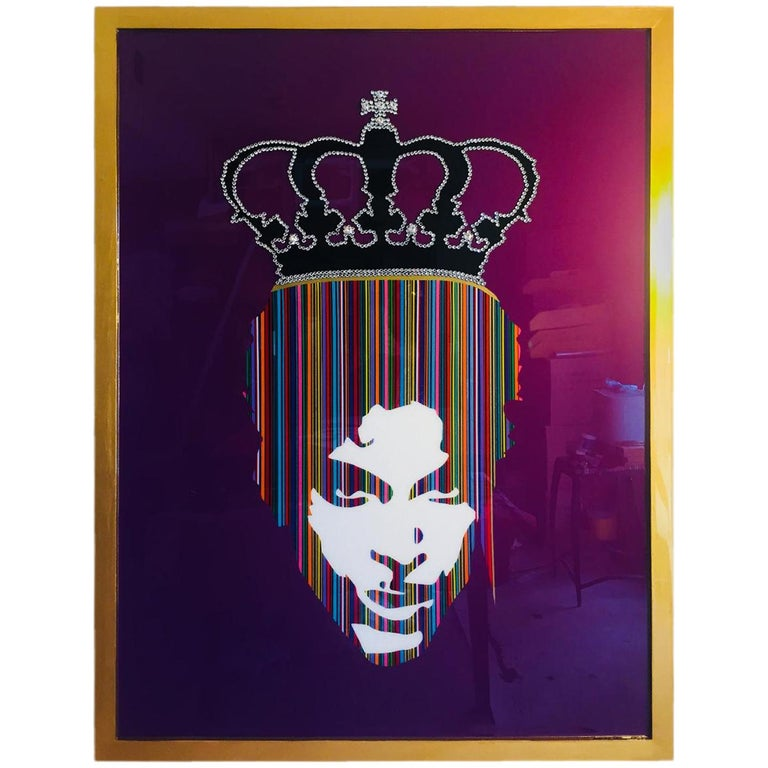 Prince with Rhinestone Crown by Mauro Oliveira For Sale