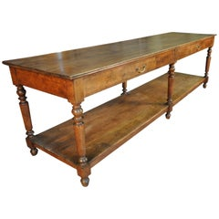 French Louis Philippe Period Draper's Table