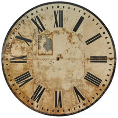 Monumental French 19th Century Clock Face