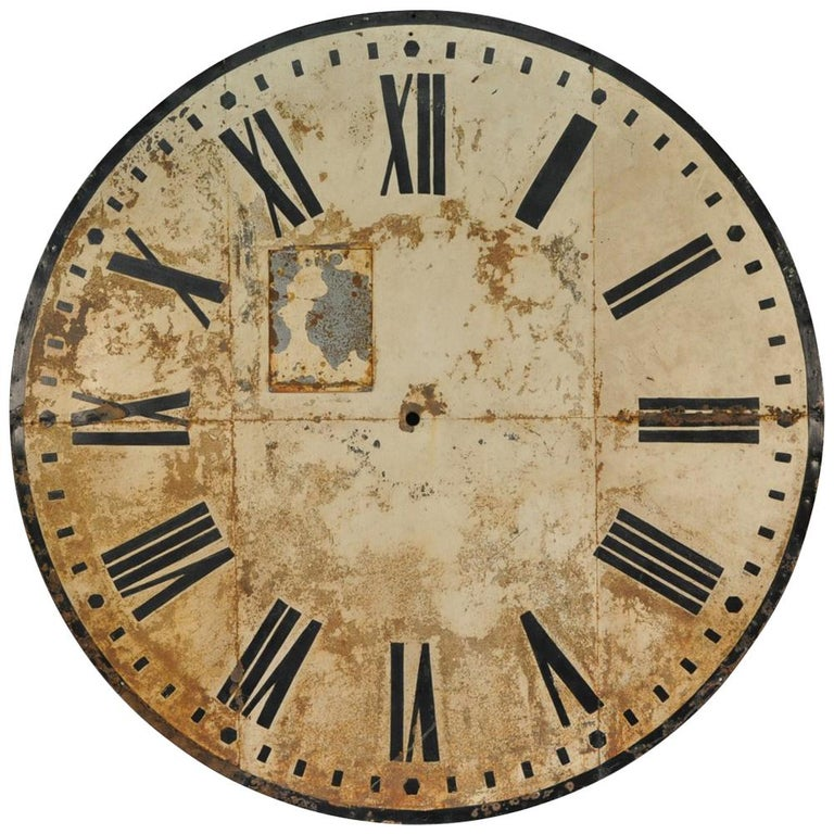19th Century Clock Face For Sale At 1stdibs