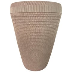 Postmodern Corrugated Cardboard Vase