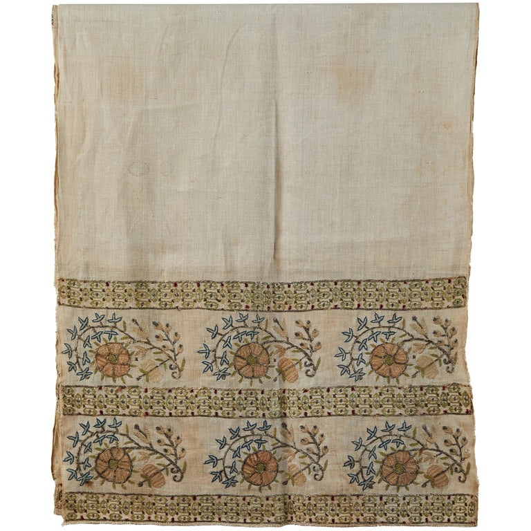 Large 19th Century Ottoman Turkish Towel For Sale