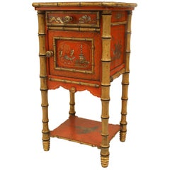 English Victorian Style '19th-20th Century' Bedside Table/Commode