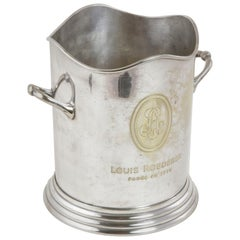 Mid-20th Century French Louis Roederer Silver Plate Champagne Bucket