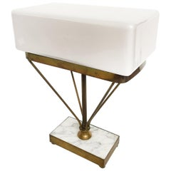 1930s French Art Deco Table Lamp in the Style of Jacques Adnet
