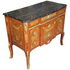 Late 19th Century Commode with Marble Top