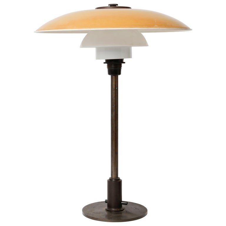 Poul Henningsen 1920s Table Lamp PH 3½-2½ for Louis Poulsen
