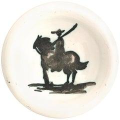 "Pablo Picasso Ceramic Bowl ""Bullfighter"", circa 1952, France"