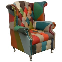Contemporary Delta's Caleb Color Chesterfield Chair