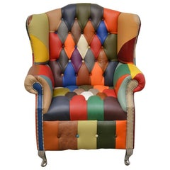 Contemporary Delta's Eleanor Color Chesterfield Chair