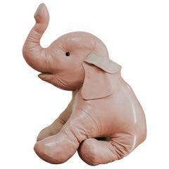 20th Century Leather Elephant