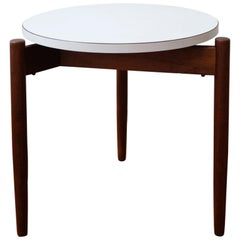 Jens Risom Floating Round Top Occasional Table