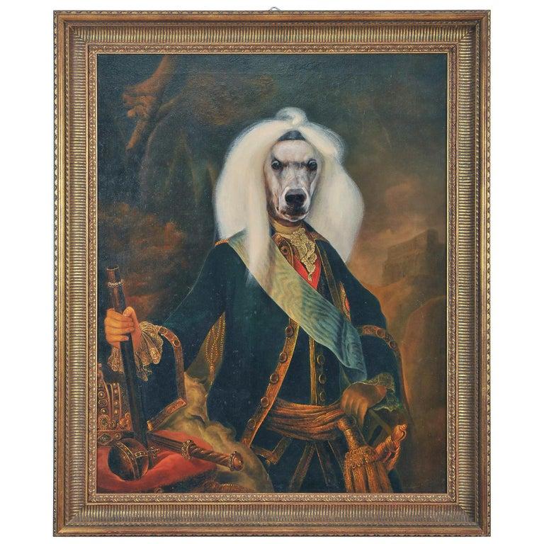 Dog Portrait Oil on Canvas