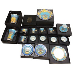 Still in the Box Pristine Set of Versace La Mer Dishes