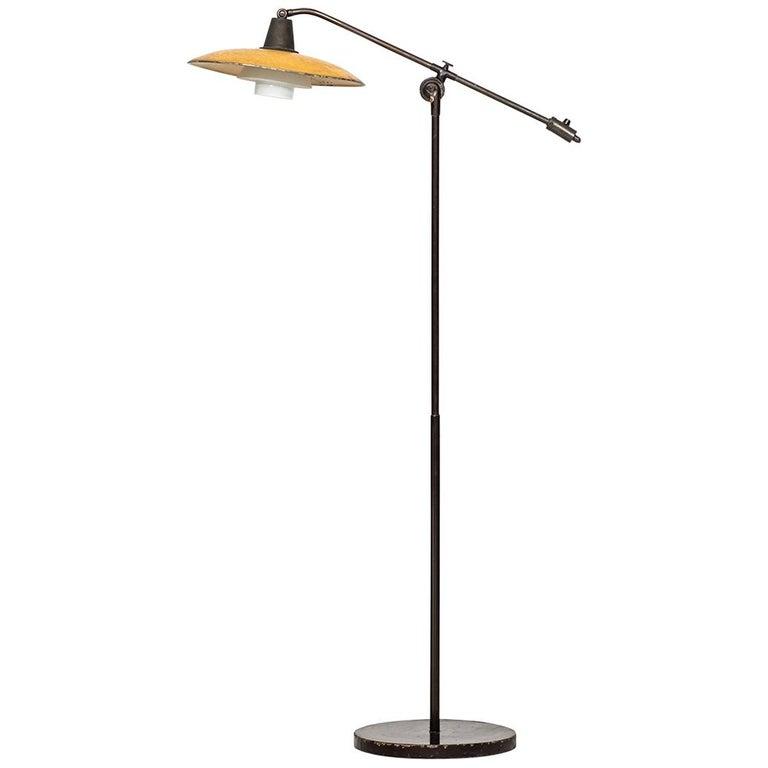 Poul Henningsen Floor Lamp PH-2/2 'Water Pump' by Louis Poulsen in Denmark