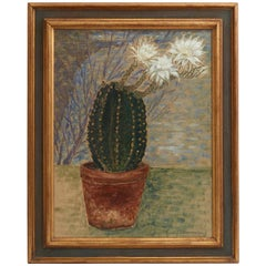 Still Life Cactus Oil Painting